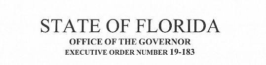 Governor Ron DeSantis Requests FDLE Take Over the Criminal Investigation of the Jeffrey Epstein Matter and Re-assigns the Case to the Nineteenth Judicial Circuit of Florida