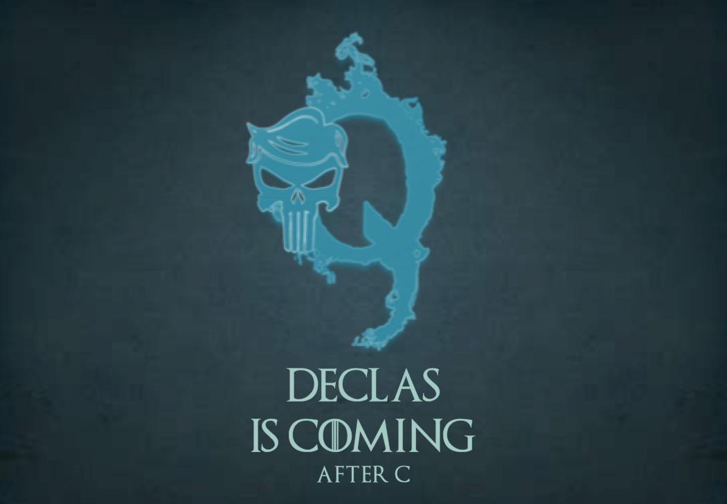 DECLAS BEGINS!