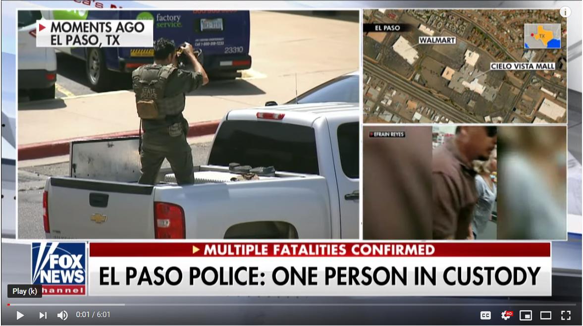 BREAKING: Shooting Reported in El Paso, Texas