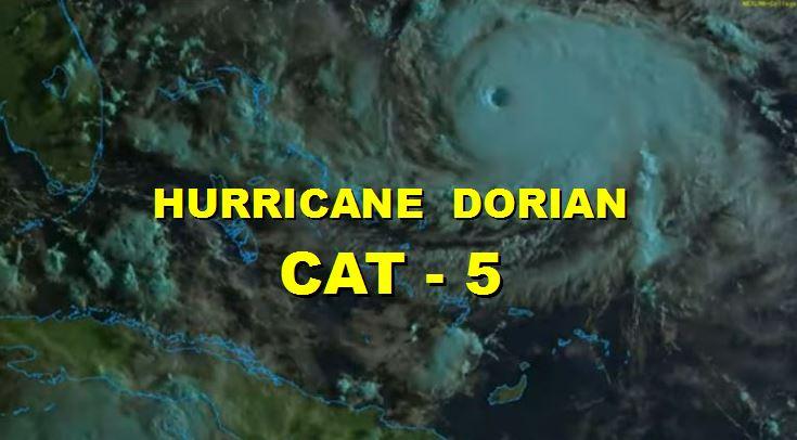 Hurricane Dorian Barrels Towards Florida - Bahamas Get Direct Hit