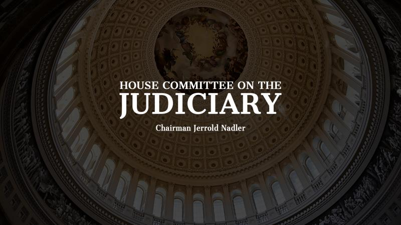 House Judiciary Hearing on Law Enforcement Reform