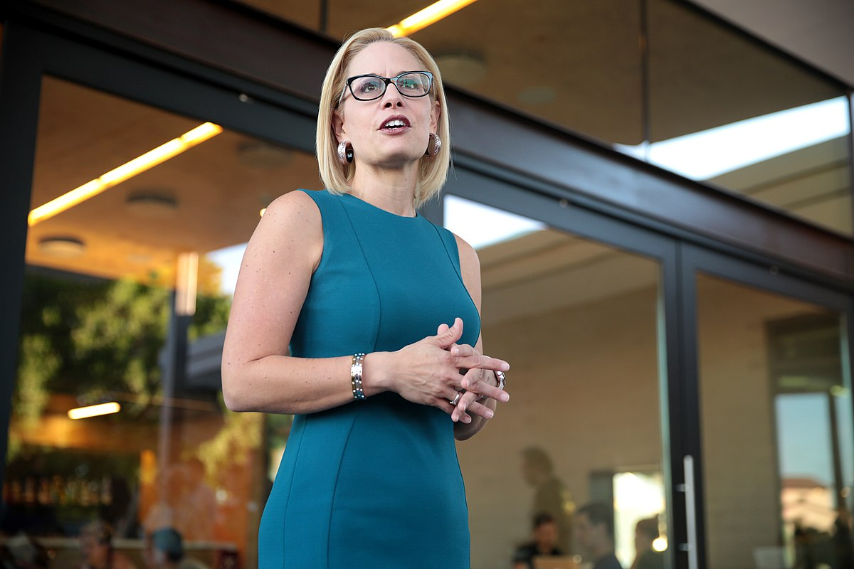 Senator Sinema Censured by her own party?