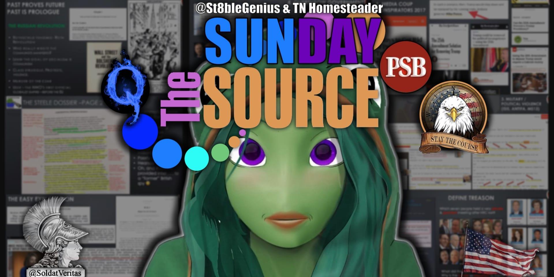 The Sunday Source  - St8ble Genius & TN Homesteader