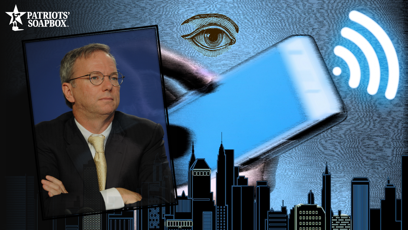 Eric Schmidt Criticizes Trump Administration, Calls for Global Mass Surveillance
