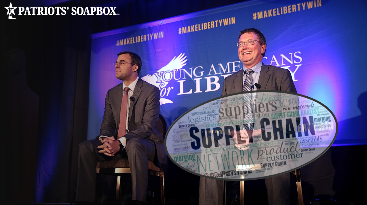 Rep. Thomas Massie Warns of Supply Chain Disruptions, Potential Coming Food Shortages