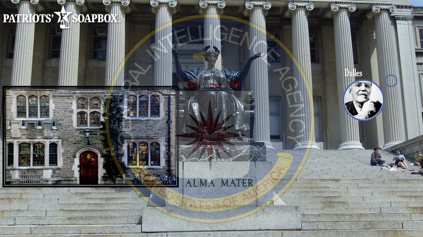 The CIA's Long March Into American College Campuses and Ivy League Universities