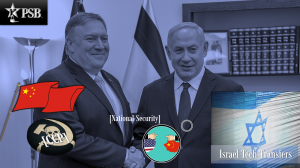 Pompeo to Israel: Urgent Warning on Dangerous Chinese Investments & Technology Transfers