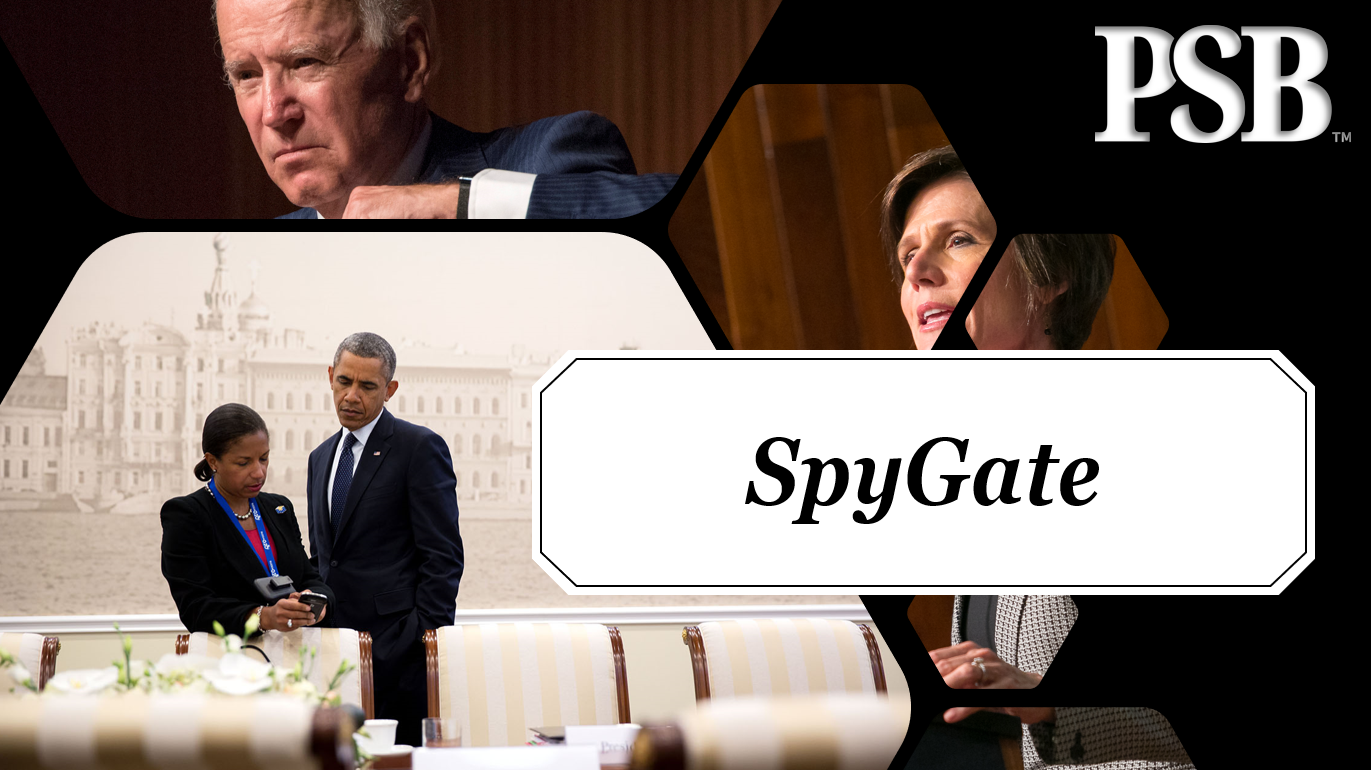 Barack Obama & Joe Biden Implicated in SpyGate Political Persecutions