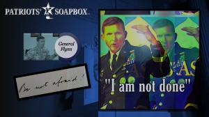 """Lt. Gen. Michael T. Flynn Breaks with Mattis, McChrystal & Kelly """"We Must Defeat Socialism"""""""