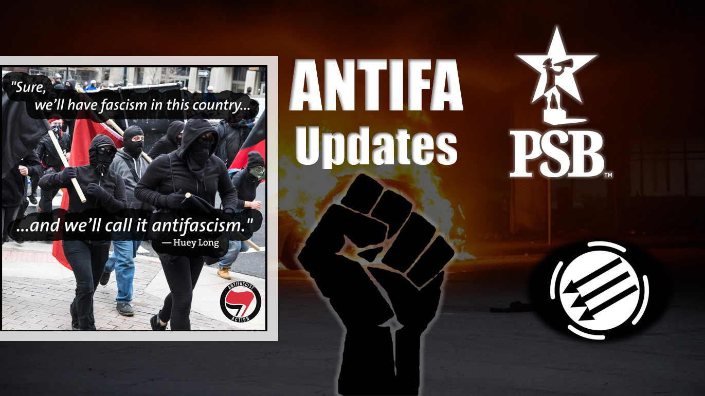 ANTIFA: Storming Federal Buildings, Michelle Malkin Attacked as Terror Rampage Continues