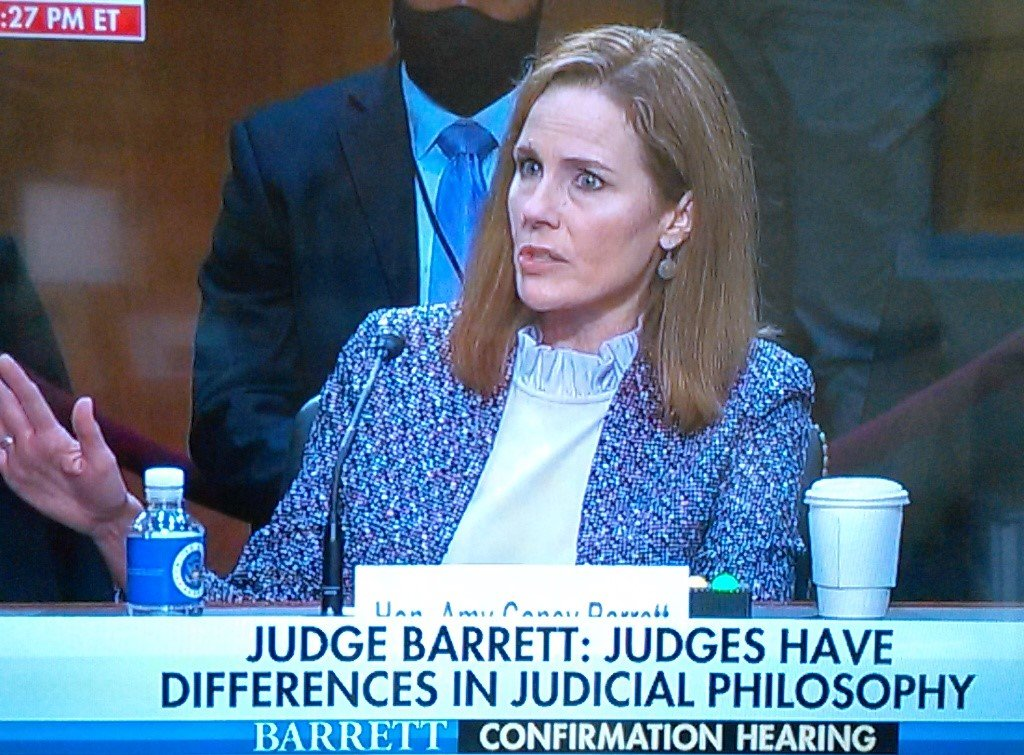 Day 3: Running Update Post on Judge Amy Coney Barrett's SCOTUS Confirmation Hearing