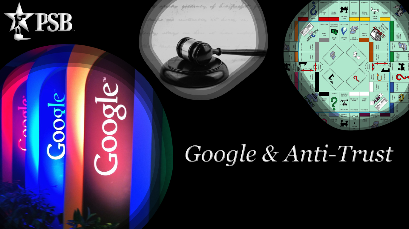 Justice Department Sues Monopolist Google, Inc. for Violating AntiTrust Laws