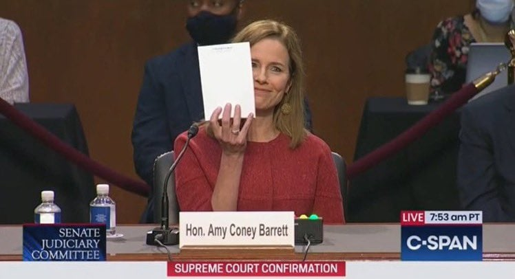 Day 2: Running Update Post on Judge Amy Coney Barrett's SCOTUS Confirmation Hearing