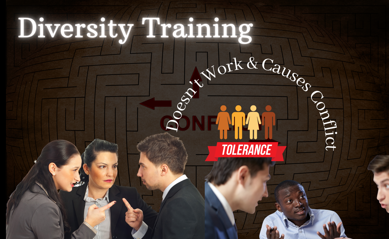 Corporate Diversity Training Doesn't Work & Causes Conflict