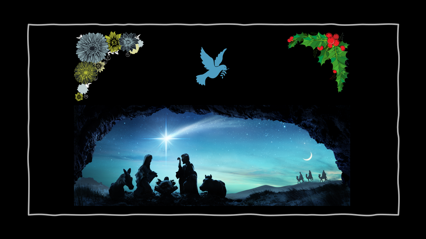 For today in the city of David there has been born for you a Savior, who is Christ the Lord