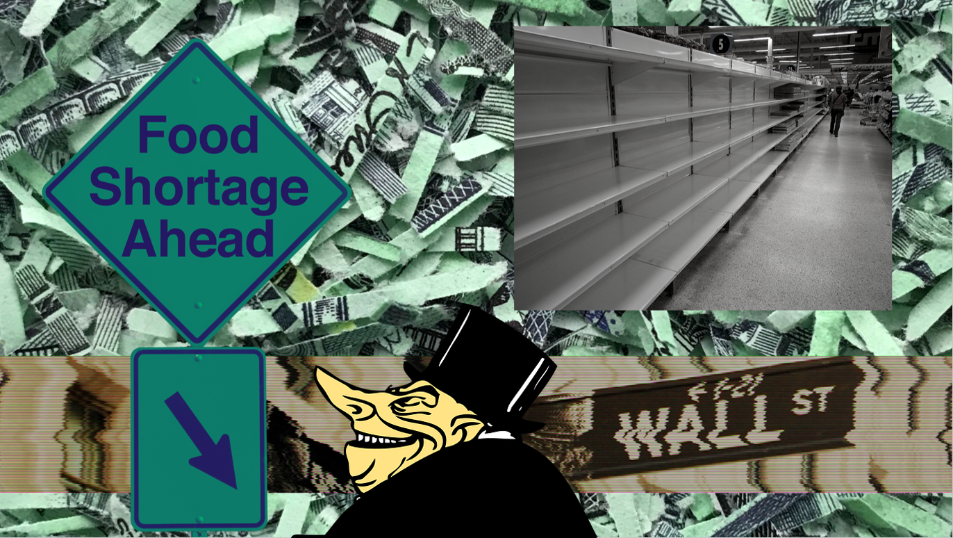 Forecast: Hyperinflation, Trade Wars, Food Shortages, Another Corporate Bailout & Civil Unrest