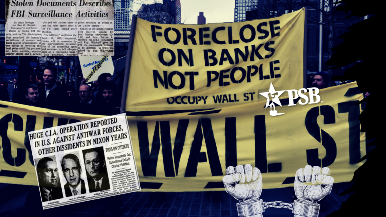 CointelPro, or How the Left Learned to Stop Worrying & Love Banks & Corporations