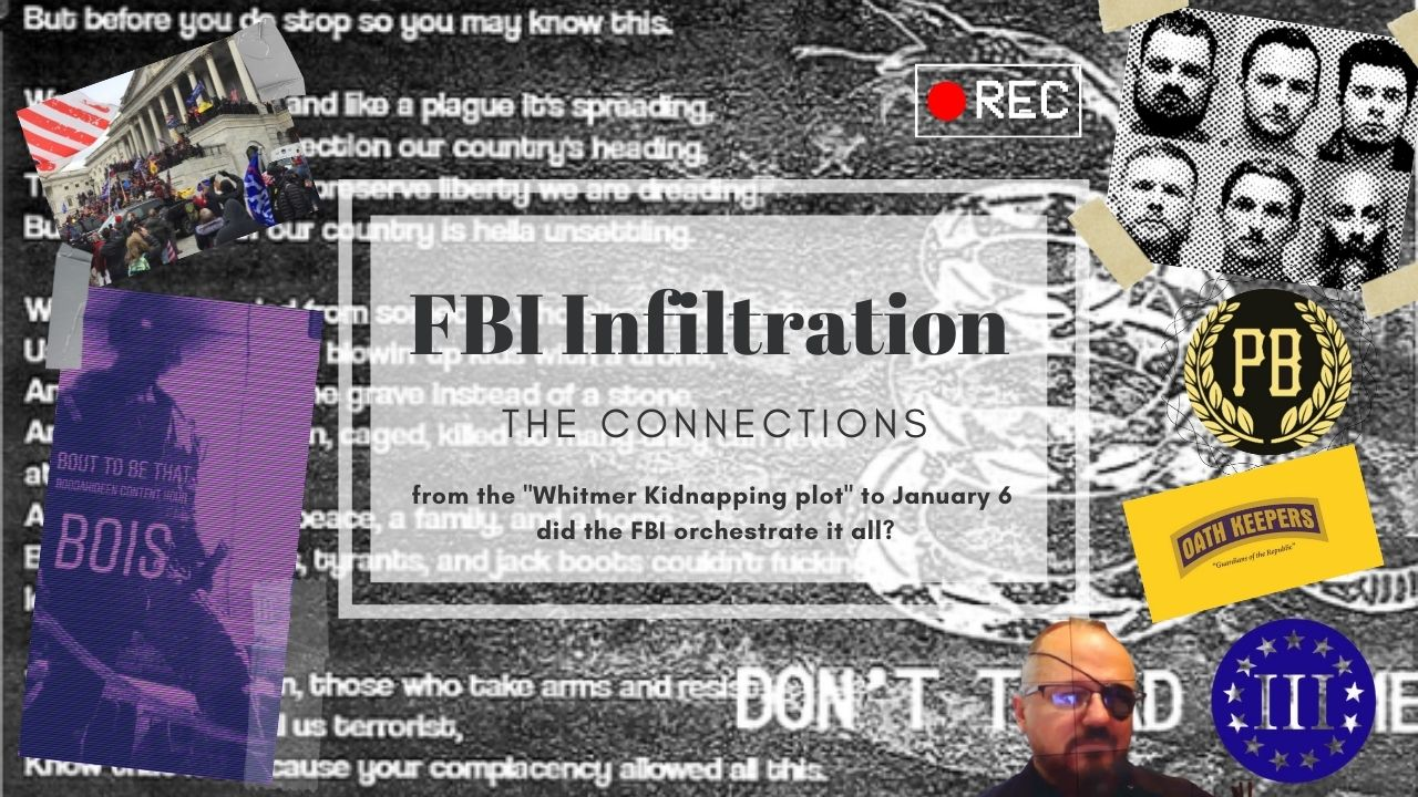 FBI Infiltration: Connections between the