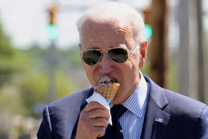 Bidenflation: Smooth and Creamy