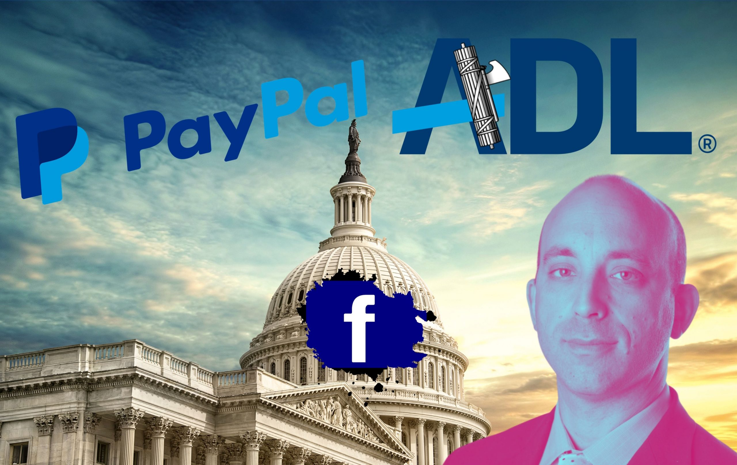 Public Private Partnerships: PayPal, Facebook & The ADL Persecuting Dissidents for the Government