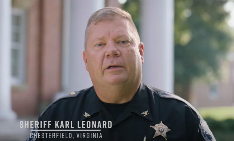 Chesterfield Sheriff Karl Leonard: