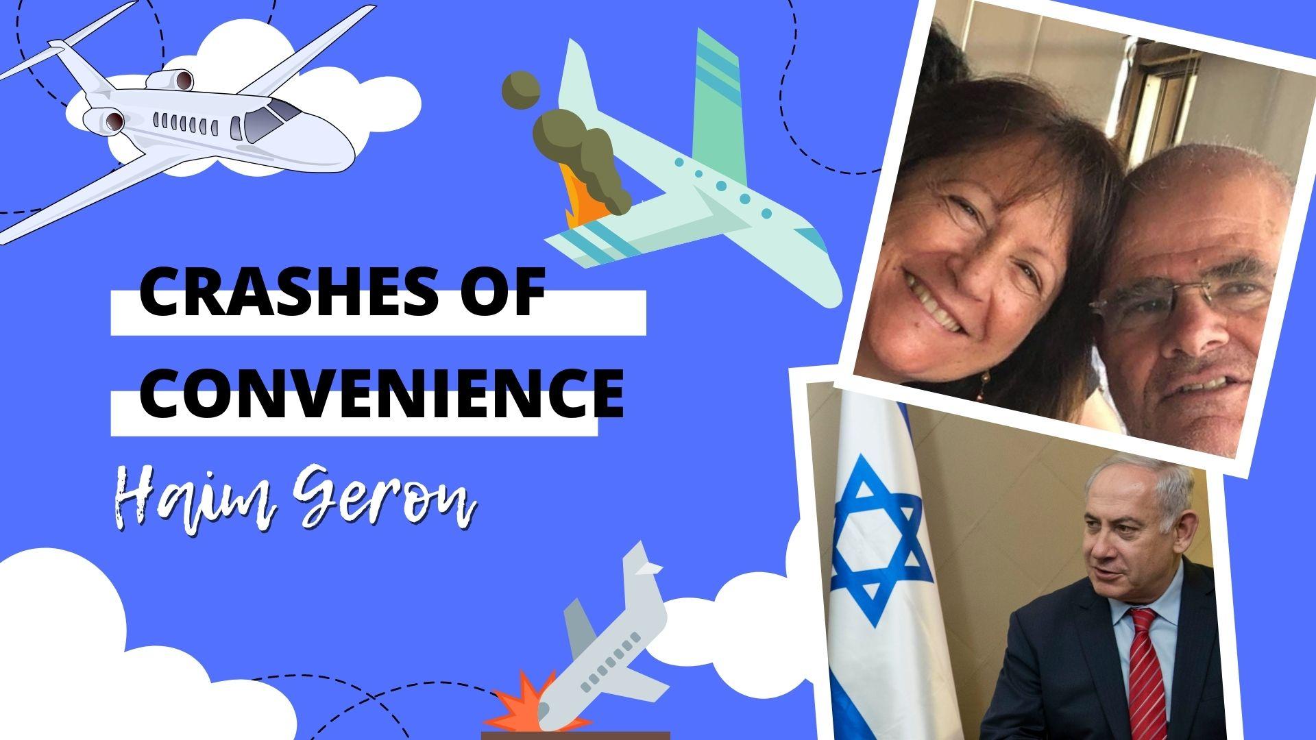 Prosecution Witness in Bibi Netanyahu Corruption Probe Dies in Plane Crash in Greece