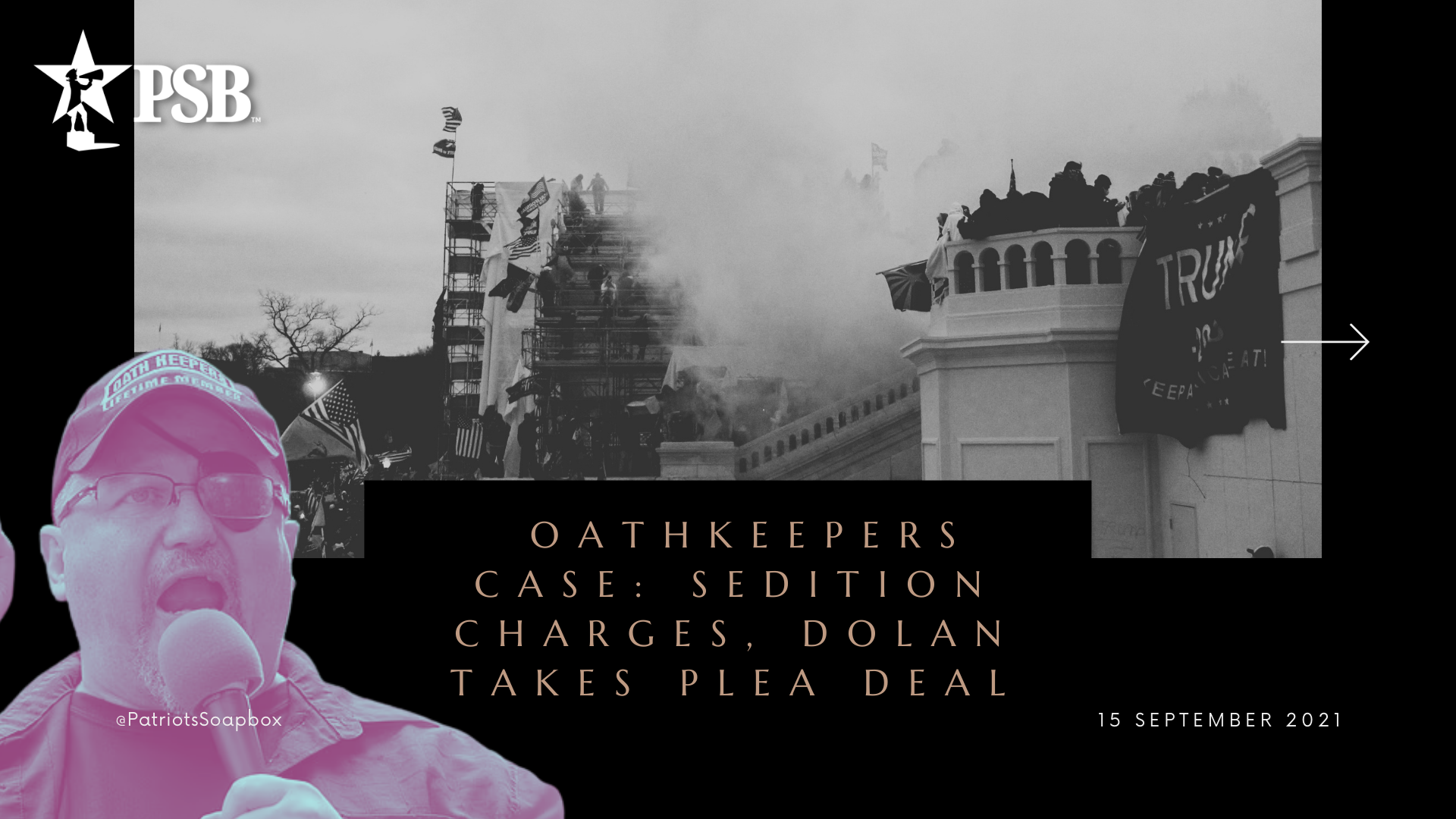 Oathkeepers Case: Seditious Conspiracy, Dolan Takes Plea & Today's Hearing