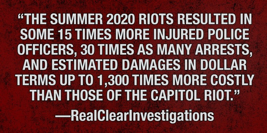 Two-Tiered Justice for Three Sets of Rioters