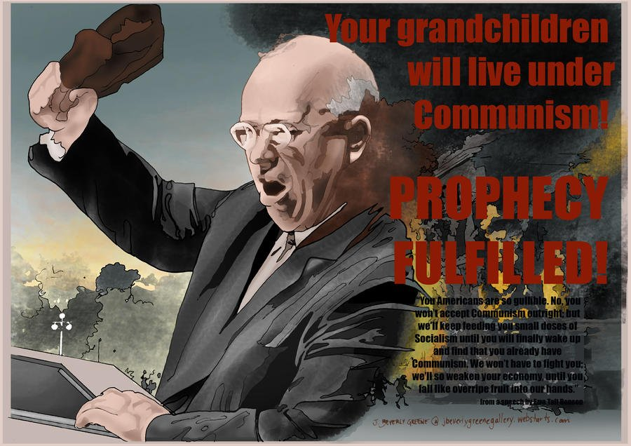 Hump Day: We Are Most Definitely Being Trod Upon, America, by Khrushchev's Smelly Soviet Shoe from the Grave